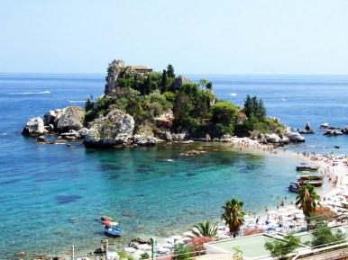 Isola Belal, Taormina, Sicilia