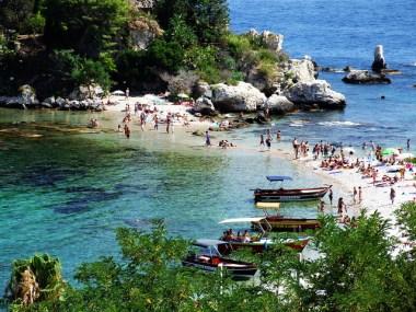 Isola Bella, Toarmina, Sicilia