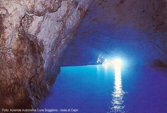 La Grotta Azzurra, Capri, Itália