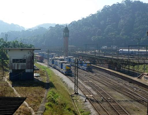 Paranapiacaba, pátio ferroviário