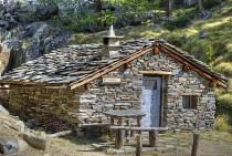 Refúgio de montanha no Piemonte