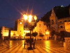 Taormina à noite, Sicília