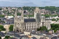 Abatiale Sain-Ouen, Rouen, - foto Fréderic Bisson CC BY