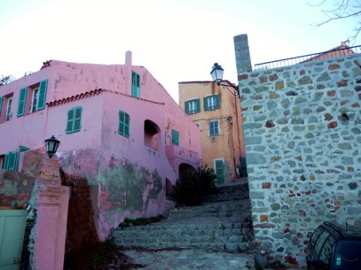 Bastia, rua na cidade velha