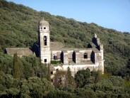 Cape Corse, ruínas de uma igreja