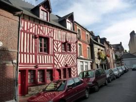 Normandia, Honfleur, arquitetura