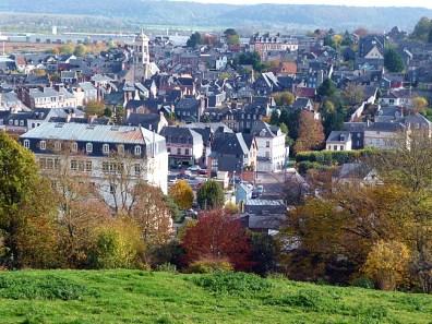 Normandia, Honfleur, panorâmica