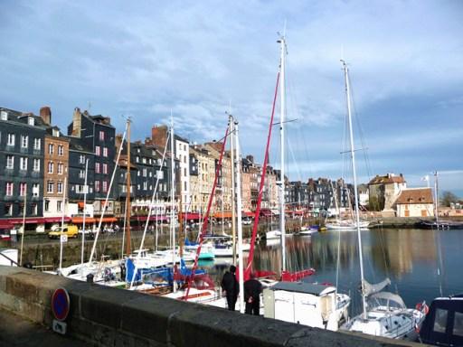 Normandia, Honfleur, porto da cidade