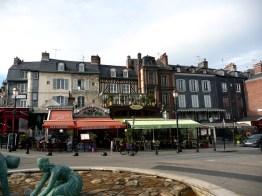 Normandia,Honfleur, cidade