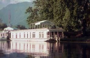 Índia, Srinagar, house boat