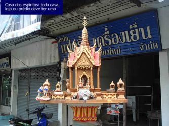 Casa dos Espíritos, Bangkok