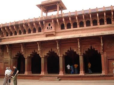 Agra, India, Forte Vermelho