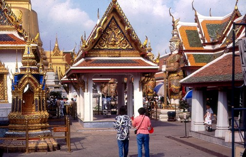Bangkok, Templo do Buda da Esmeralda