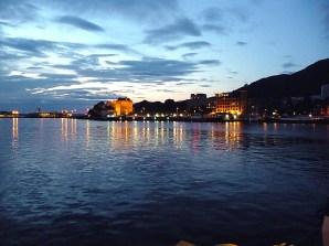 Bergen, Noruega, baía de Bergen