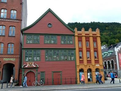 Bergen, Noruega, casas tíipicas- Foto Manual do Turista