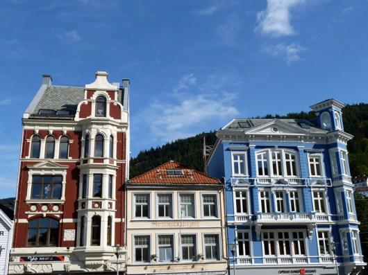 Bergen, Noruega, arquitetura- Foto Manual do Turista