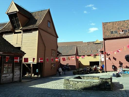Bergen, Noruega, Bryggen