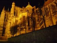 Catedral de Chartes à noite