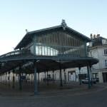 Chartres, o mercado em ferro forjado arte deco