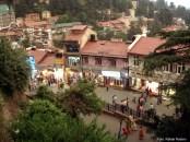 Cidade de Simla, no norte da Índia