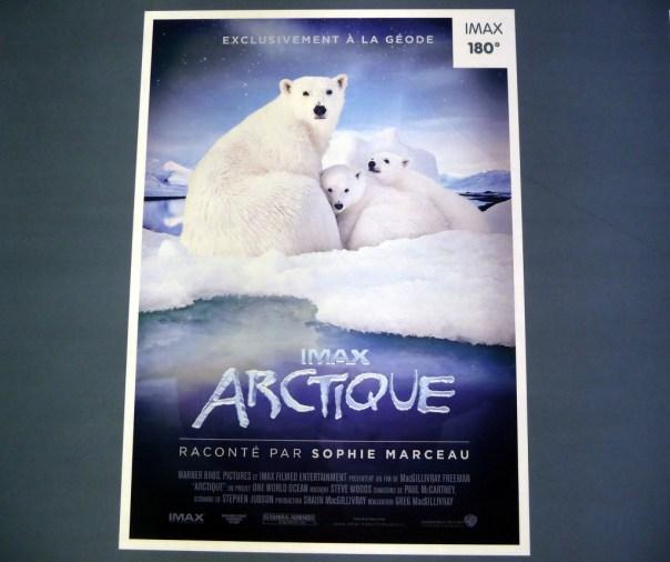 Cité des Sciences em Paris, documentário sobre o Ártico
