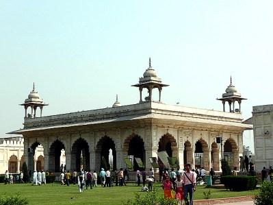 Delhi, construção mongol no interior do Red Fort