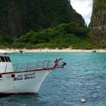 Enseada em Phi Phi Island, Tailândia