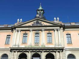 Fachada, palácio, Estocolmo