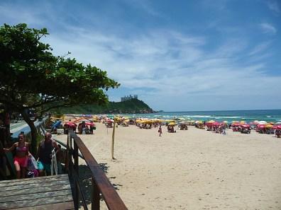 Guarujá, praia do Tombo