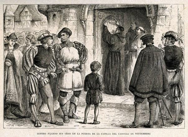 Martin Lutero - Fondo Antigio de la Universidadad de Sevilha