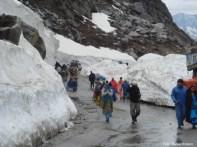 Nevasca na estrada, Norte da Índia