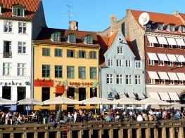 Nyhavn, em Copenhagen