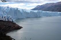 Perito Moreno, um gigantesco campo de gelo