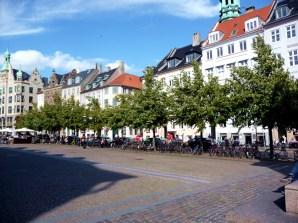 Praça em Copenhagen