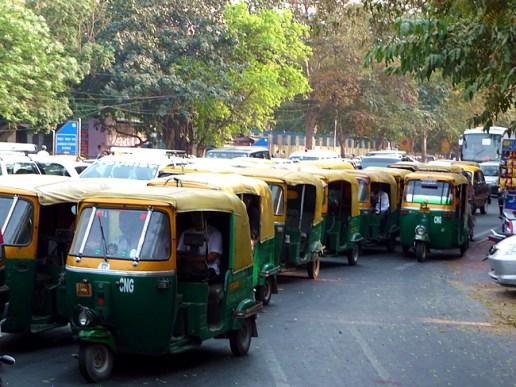 Rick-Shaws, Nova Delhi, Índia