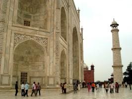 Taj-Mahal, Agra, India