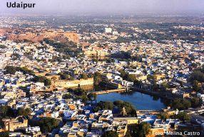 Udaipur, Índia, vista panorâmica