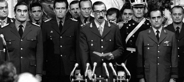 Os generais da ditadrua argentina