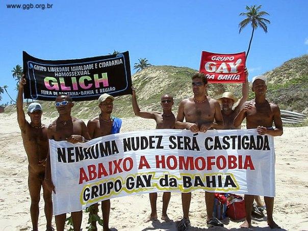 Grupo gay da Bahia
