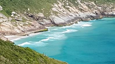 Litoral rochoso no Pontal do Atalaia
