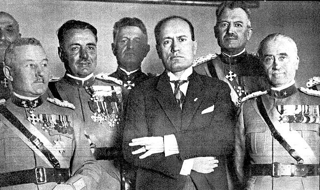 Benito Mussolini - Foto Carlo Alfredo Clerici CCBY