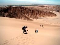 Duna no Valle de la Muerte, Atacama Chile