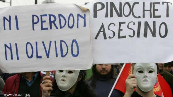 Pinochet assessino