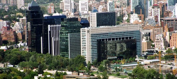 Santiago de Chile, centro moderno