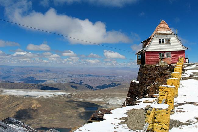 Chacaltaya, perto de La Paz - Foto Felipe Ernesto CCBY