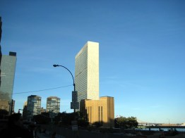 O prédio da ONU em New York