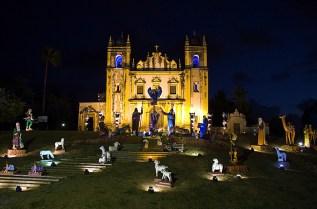 Olinda, presépio na Igreja do Carmo - Foto Prefeitura de Olinda CCBY
