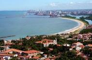 Olinda, vista aérea - Foto Prefeitura de Olinda CCBY