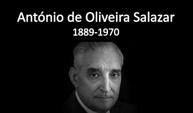 Oliveira salazar, ditador português