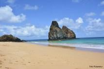 Praia em Fernando de Noronha - Foto de Rosanetur CCBY
